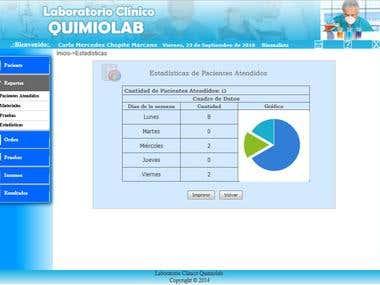 Sistema de gestión de pruebas de laboratorio