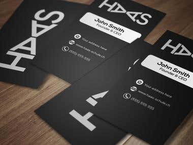 Design a Business Card.