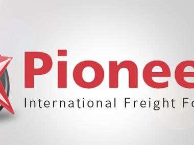 Pioneer 3D Logo