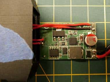 LED Dimmner using Thermistor Control