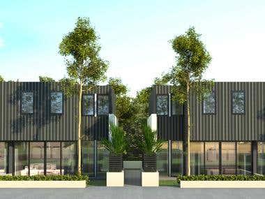 resident exterior design