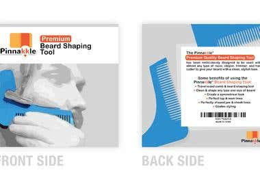 Pinakkle Beard Shaping Tool