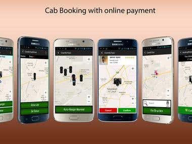 Cab Booking with online payment and bidding (Android)