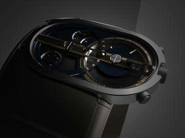 Watch concept design