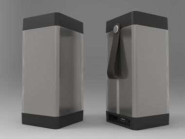 3d Modelling - Product Design - Speakers