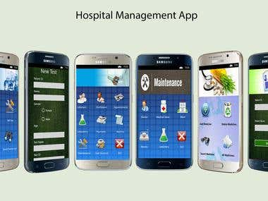 Hospital Management App (Windows phone)