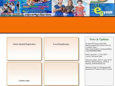 Educational Website
