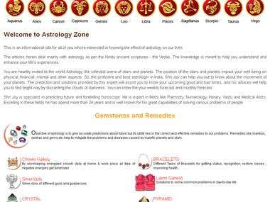 Astrology website
