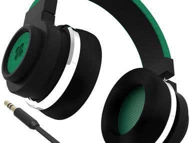 Product Design - 3d Modelling - HeadPhone 2
