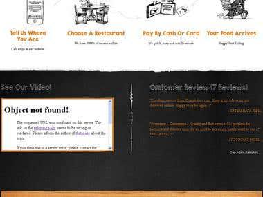 Restaurant Website