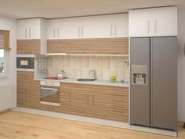 Kitchen Design/Rendering