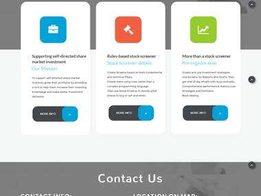 HOME PAGE FOR SHARE MARKET ADVISER