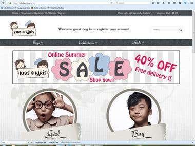 Online Shope-E Commerec ..Prestashope
