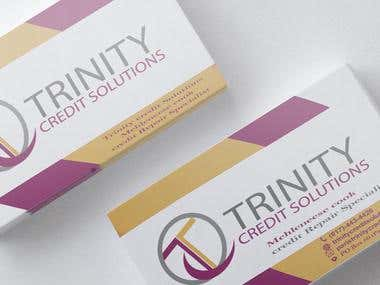 Trinity Credit Solutions  Business Cards
