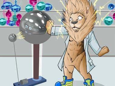 Lion Tesla