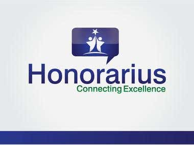honorarius logo winning design