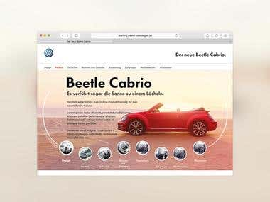 The new Beetle Cabrio