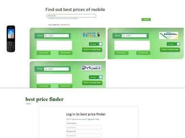 Best Price Finder Website