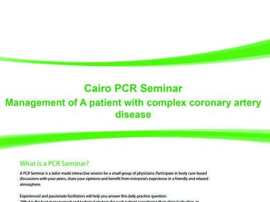 Cairo PCR Seminar Website