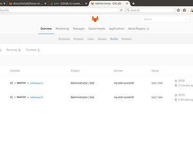 Continous Integration with gitlab