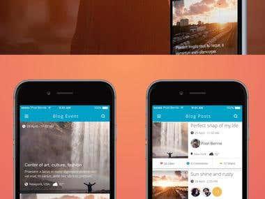 Social network Blog App