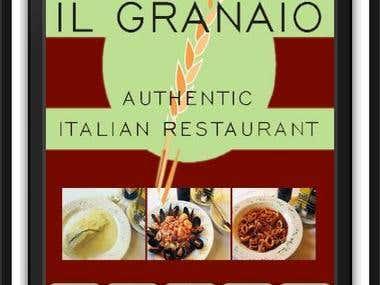 Mobile App Development for Italian Restaurant