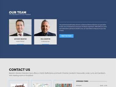 Wordpress LAW Website