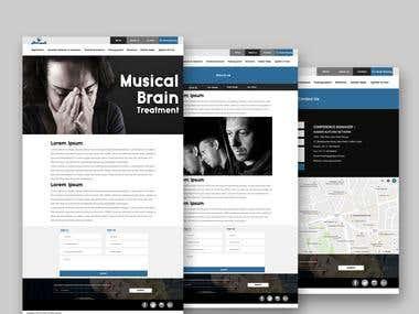 Musical Brain web development