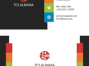 Bussines Cards TCS ( Telephone Computer Service )