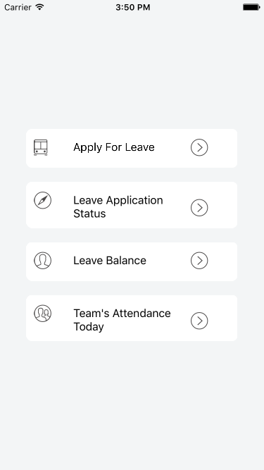 Leave Buddy - React Native APP