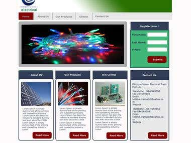 Electrical Products Website
