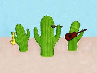 Cactus band