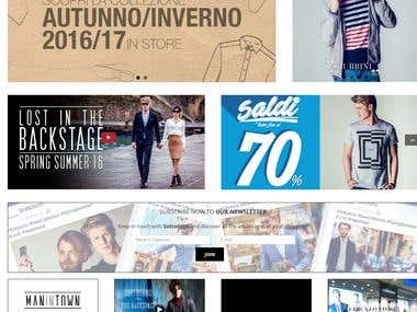 Sottotono –Woocommerce Website