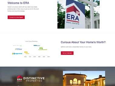 ERA - Real Estate Website