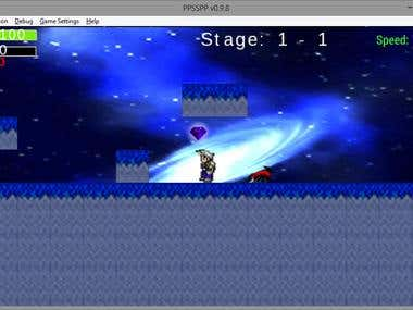 Lua game for PSP