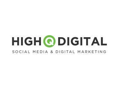 High Q Digital logo