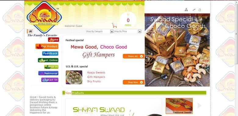 www shyamswaad com | Freelancer