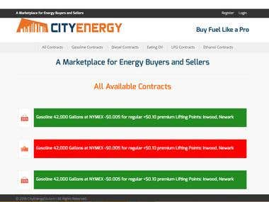 A Marketplace for Energy Buyers and Sellers