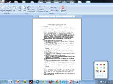 Oral Presentation Outline - Sample Topic