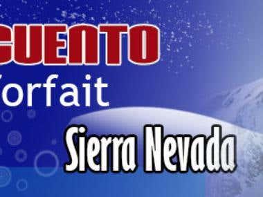 Banners Sierra Nevada