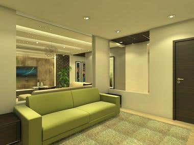 I will make best interior 3d views