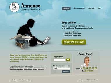 Homepage idea
