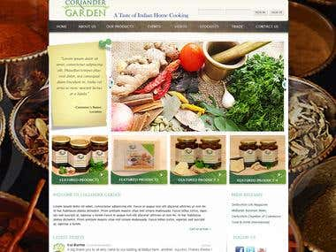 Spices Website