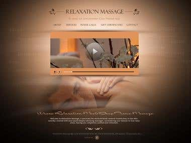 Relaxing Massages Website