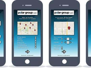 Polar Snow Mobi Mobile App