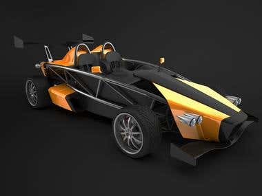 Ariel Atom based design for Sin R1