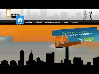 Urban City El Salvador - Web Design
