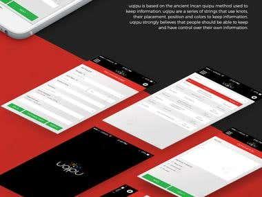 App UI/UX Design 2016