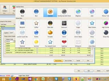 School Result Software