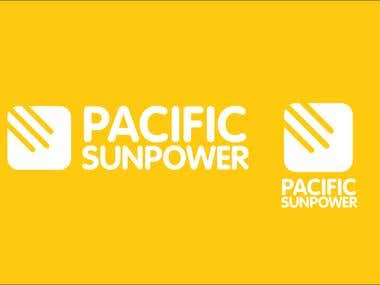 PACIFIC SUNPOWER: BRAND IDENTITY & LOGO DESIGN
